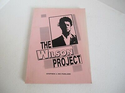 The Wilson Project Rare1992  Pink Cover Book Stephen J. Mc Parland Beach Boys Vg • 75£