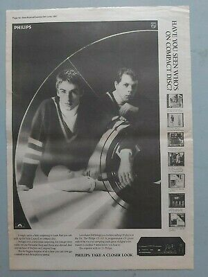 The Jam Style Council Philips Cd Original Trade Advert / Poster • 7.99£