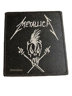 Vintage *OFFICIAL* 1993 METALLICA Scary Guy  Patch - Metal Thrash Rock • 5£