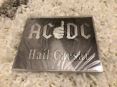 AC/DC-HAIL CAESAR-PROMO/SEALED- CD-Brian Johnson/Angus Young-IMPORT/France • 4.28£