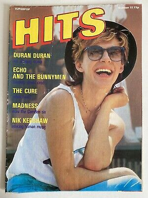 DURAN DURAN : SUPERPOP HITS #15 Poster Magazine 1980's With Madness • 7.99£