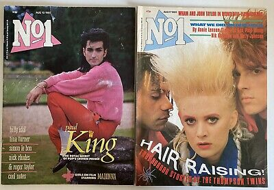 DURAN DURAN : No1 Magazine 2 Issues From August 1985 • 6.49£