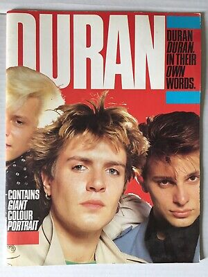 DURAN DURAN : IN THEIR OWN WORDS 1983 With Giant Colour Poster • 7.99£