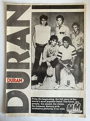 DURAN DURAN : MELODY MAKER Pullout Booklet 1983 • 5.49£