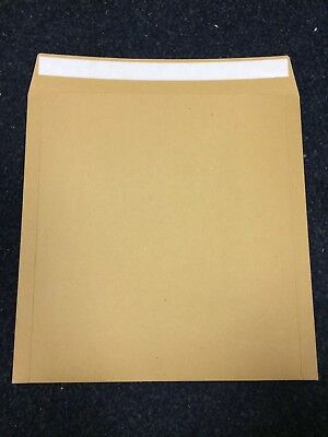 25 7   Strong Brown Record Mailers / Envelopes Free P+p • 7.67£