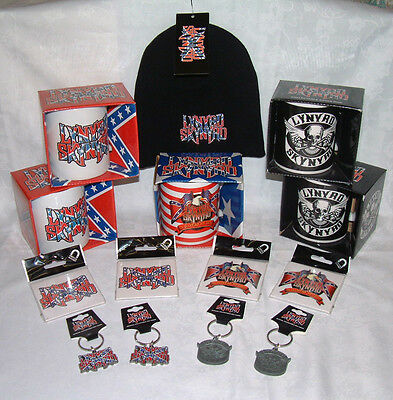 Lynyrd Skynyrd - Official Merchandise Mugs, Hats, Keyrings & Magnets - New  • 5.49£