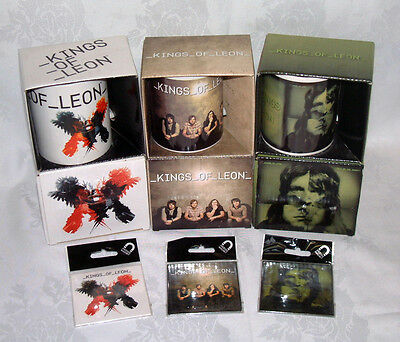 Kings Of Leon - Official Merchandise - Coffee Mugs & Fridge Magnets – New  • 6.49£