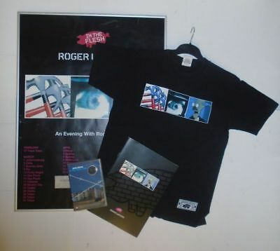 Roger Waters In The Flesh Tour Framed Poster/T-Shirt/Programme/DVD Pink Floyd • 119.99£
