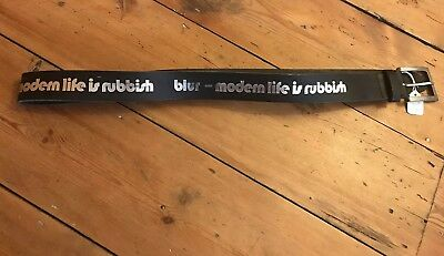 BRAND NEW Blur Modern Life Is Rubbish Belt Belt Indie Britpop S-XL • 7£