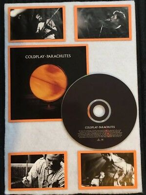 Coldplay - Parachutes Framed CD & Cover Music Memorabilia Handmade • 11.99£
