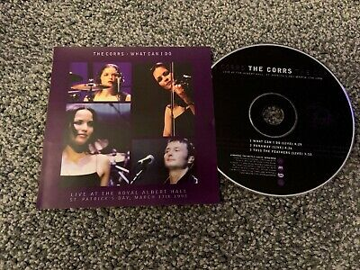 The Corrs - What Can I Do - Live At The Royal Albert Hall - RARE CD • 19.99£