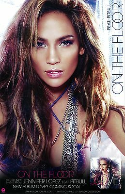 Jennifer Lopez Poster - 2 Sided Promotional  Poster - 11 X 17 Inches • 8.50£