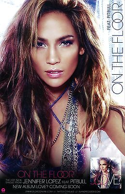 Jennifer Lopez Poster - 2 Sided Promotional  Poster - 11 X 17 Inches • 7.40£