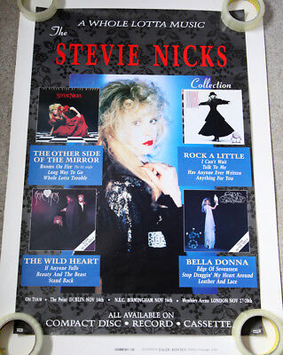 Stevie Nicks Original Whole Lotta Music Poster • 20£