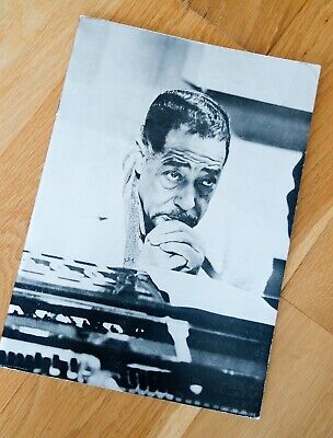 Jazz Programme  For Duke Ellington Orchestra British Tour 1971 • 9.99£