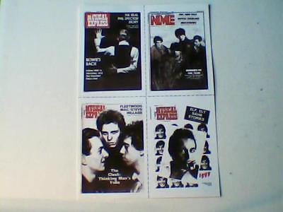 NME Classics 4 Postcards (David Bowie/Echo & The Bunnymen/The Clash/Iggy Pop) • 9.99£