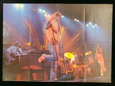 The Who Fold-Out Super Star Series Poster 1974 • 18£