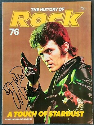 Alvin Stardust Signed Magazine 'The History Of Rock'. • 25£