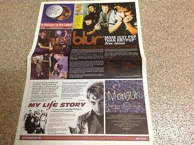 A FLAVOUR OF THE LABEL, Issue 7 ,blind Melon,blur,spearhead,ether,us3.mansun • 3.25£