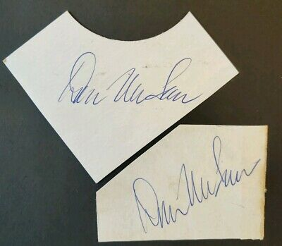 Don McLean Signed Record Sleeves X2 - Ex BBC Radio 1 - American Pie • 40£