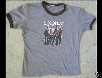 COLDPLAY Junior Size Brown T-Shirt • 7.79£
