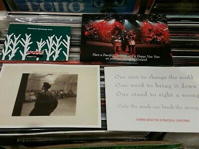 Runrig Memorabilia Selection Of 15  Christmas Fanclub Christmas Cards • 39.99£