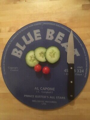 Blue Beat  Prince Buster Glass Chopping Board 30cm • 14.99£