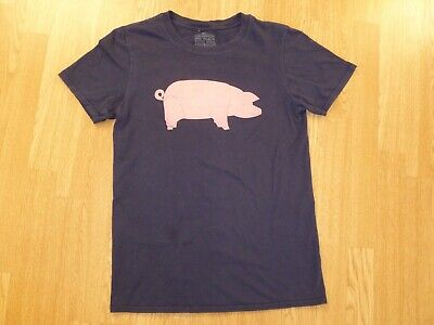 PINK FLOYD EXHIBITION Pink PIG T-Shirt 2017 ANIMALS Their Mortal Remains S Tour • 19.99£