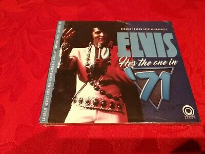 Elvis Presley He's The One In 71 Import CD Sealed • 18.99£