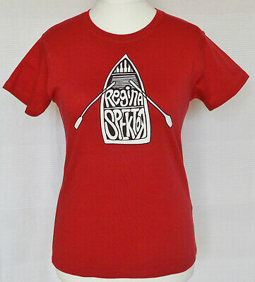 Regina Spektor All The Rowboats Red Womens Official Tour Tee T-Shirt -  L 10 12 • 15£