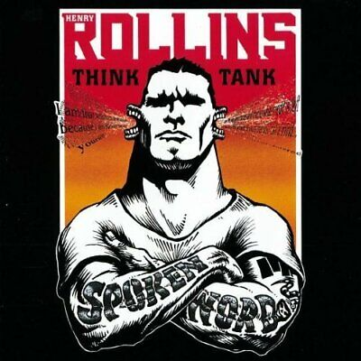 Henry Rollins | 2 CD | Think Tank (live, 1997/98) • 10.51£