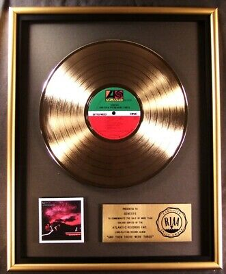 Genesis And Then There Were Three LP Gold RIAA Record Award Atlantic Records • 364.77£