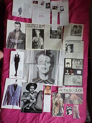 David Bowie Vintage Cuttings +   Ziggy Stardust • 3.49£