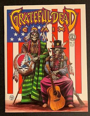 Vintage Grateful Dead Comix • NM Issue 3 • 1991 • Tim Truman  Sugaree  And Cover • 15.80£
