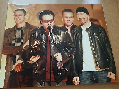 U2 - Bono - Seven  - 10 X 8 Colour Photos • 20£