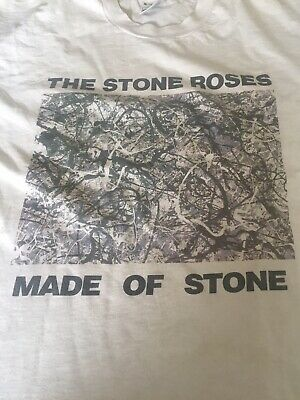 Vintage  Stone Roses Made Of Stone Official T Shirt. • 60£