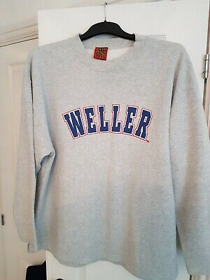 Paul Weller Heavy Soul Very Rare 1997 Tour Sweatshirt Size XL • 120£