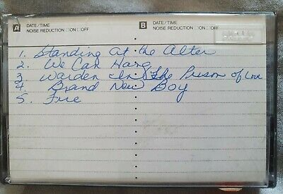 Prince Extremely Rare Hand Written Unreleased Demo Tapes • 25,000£