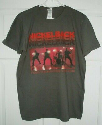 Nickelback 2018 Tour Grey M T-Shirt 40  Chest  • 29.99£