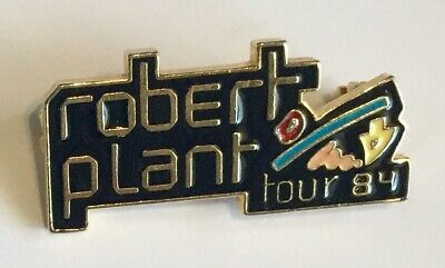 Robert Plant Badge Led Zeppelin S Robert Plant Enamel Tour Badge 1984 • 3.85£