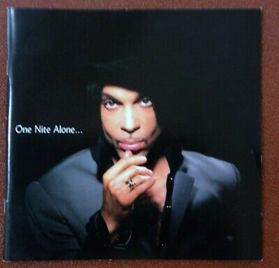 Prince, One Night Alone, Tour Programme Book 2002 • 21£