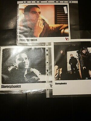 Stereophonics 3 X Photos 8 X 10 Music Promo  • 4.99£