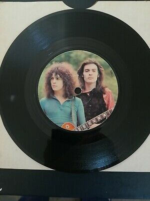 T- Rex 1971 Picture Disc Single Jeepster / Life's A Gas  • 3.25£