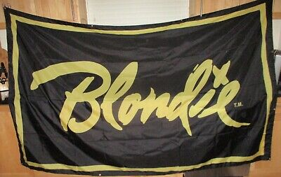 Blondie Rare In-Store Display Eat To The Beat LARGE Banner 95  X 59  Near MINT • 90.83£