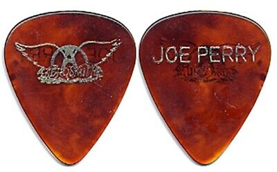 Aerosmith Joe Perry Authentic Vintage 1985 Done With Mirrors Tour Guitar Pick • 42.23£