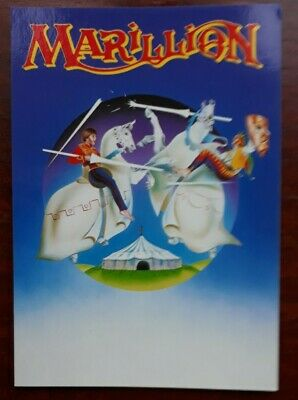 MARILLION - Promotional Postcard Collectable  • 0.99£