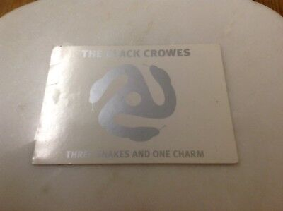 Black Crowes ,three Snakes And One Charm ,promo Postcard • 3.25£