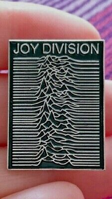 Joy Division UNKNOWN PLEASURES Pin Badge IAN CURTIS Substance Post Punk Factory  • 3.45£