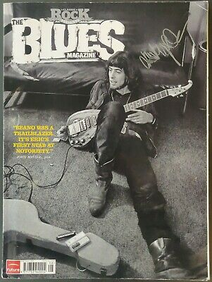 John Mayall Signed Classic Rock Presents The Blues Magazine - 2012 • 15£