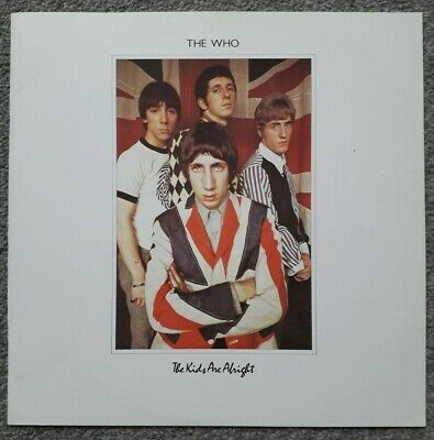 The Who - The Kids Are Alright LP Booklet Insert • 7£